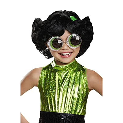 Buttercup Powerpuff Girls Wig, One Size Child: Toys & Games