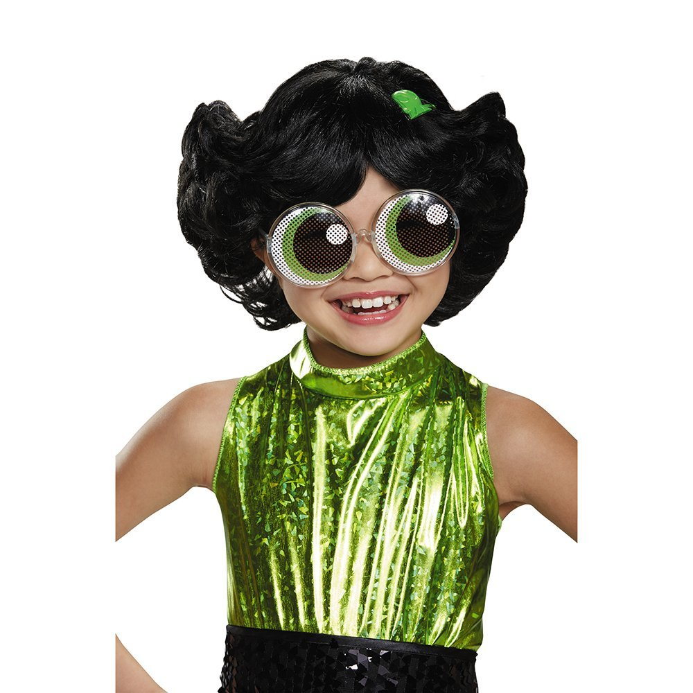Disguise Buttercup Powerpuff Girls Wig, One Size Child