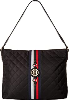 4b33f6ba Amazon.com: Tommy Hilfiger Travel Tote Bag for Women Jaden, Black ...