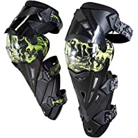 Thump Scoyco K12 Unisex Knee Guard One Set Protective Kneepad For Motorcycle Racing, Riding, Mountain Bikers (Black & Green)