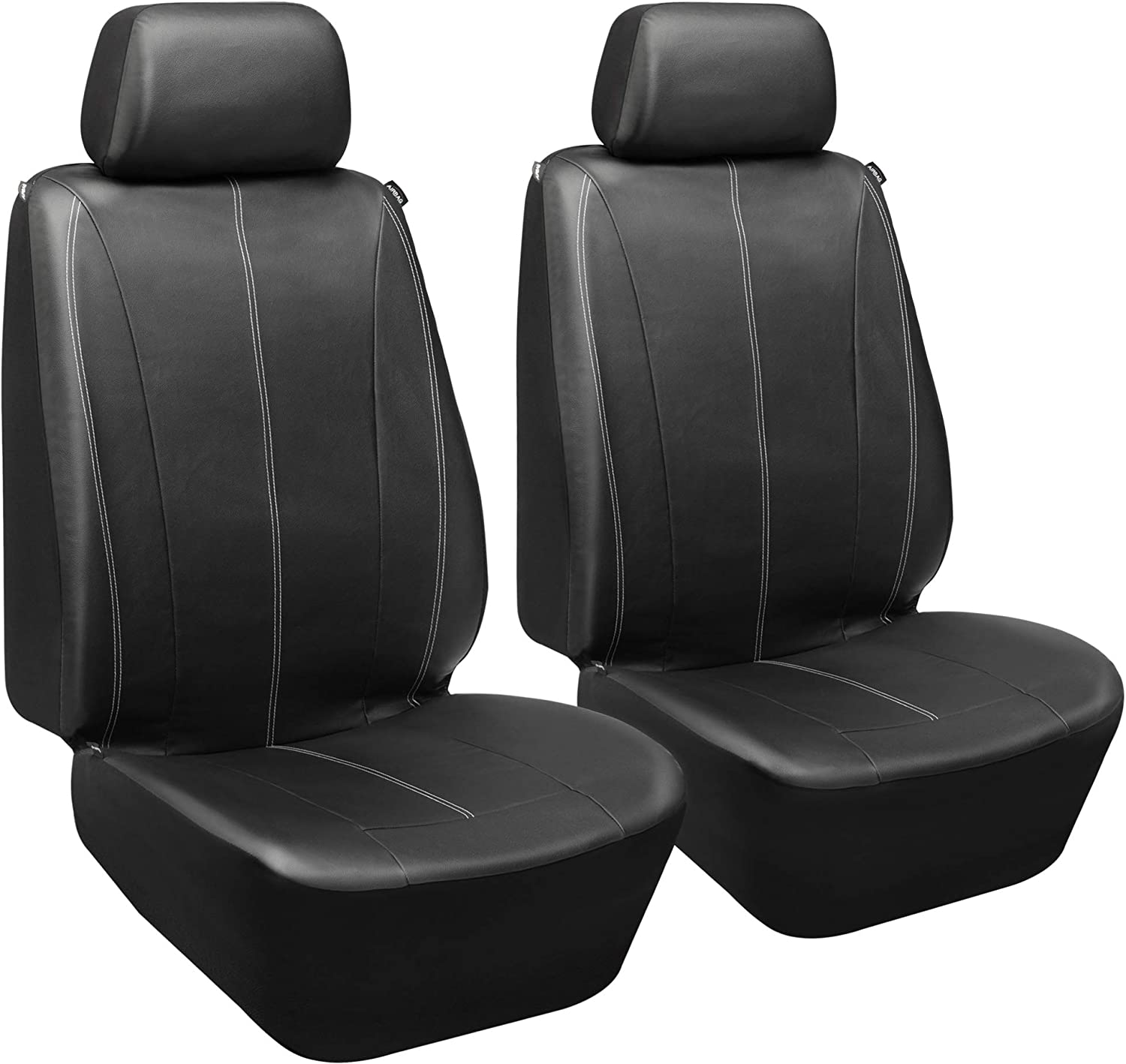 FORD TRANSIT CONNECT 2 x Fronts Heavy Duty Black Waterproof Car Seat Covers
