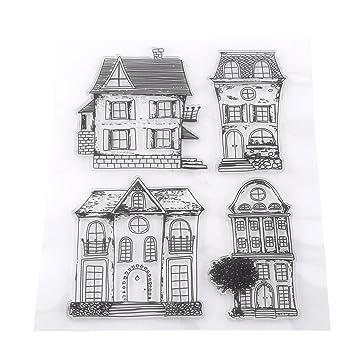 Stempel Silikon Diy Scrapbook Briefmarken Des Beruf Für Die Haus