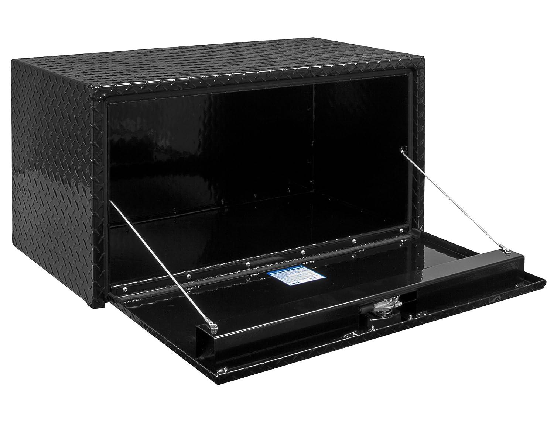 Aluminum, 18X18X30, BLK PDR Coat Buyers Products 1725103 Toolbox