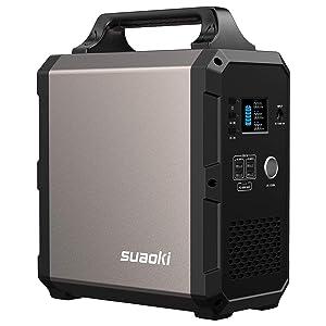 suaoki G1200 1200Wh AC出力1000W