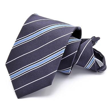 Mens delgada corbata Raya Color sólido Lunares Corbata corbata ...