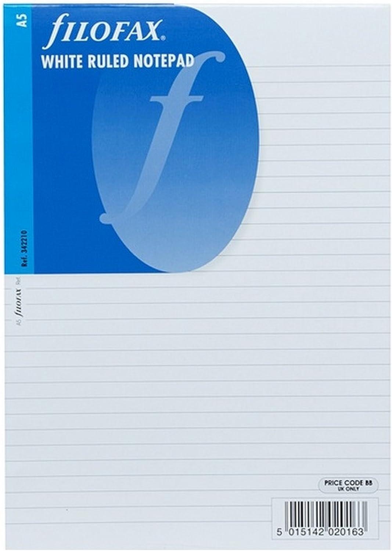 Filofax Einlage Personal liniertes Notizpapier in blau
