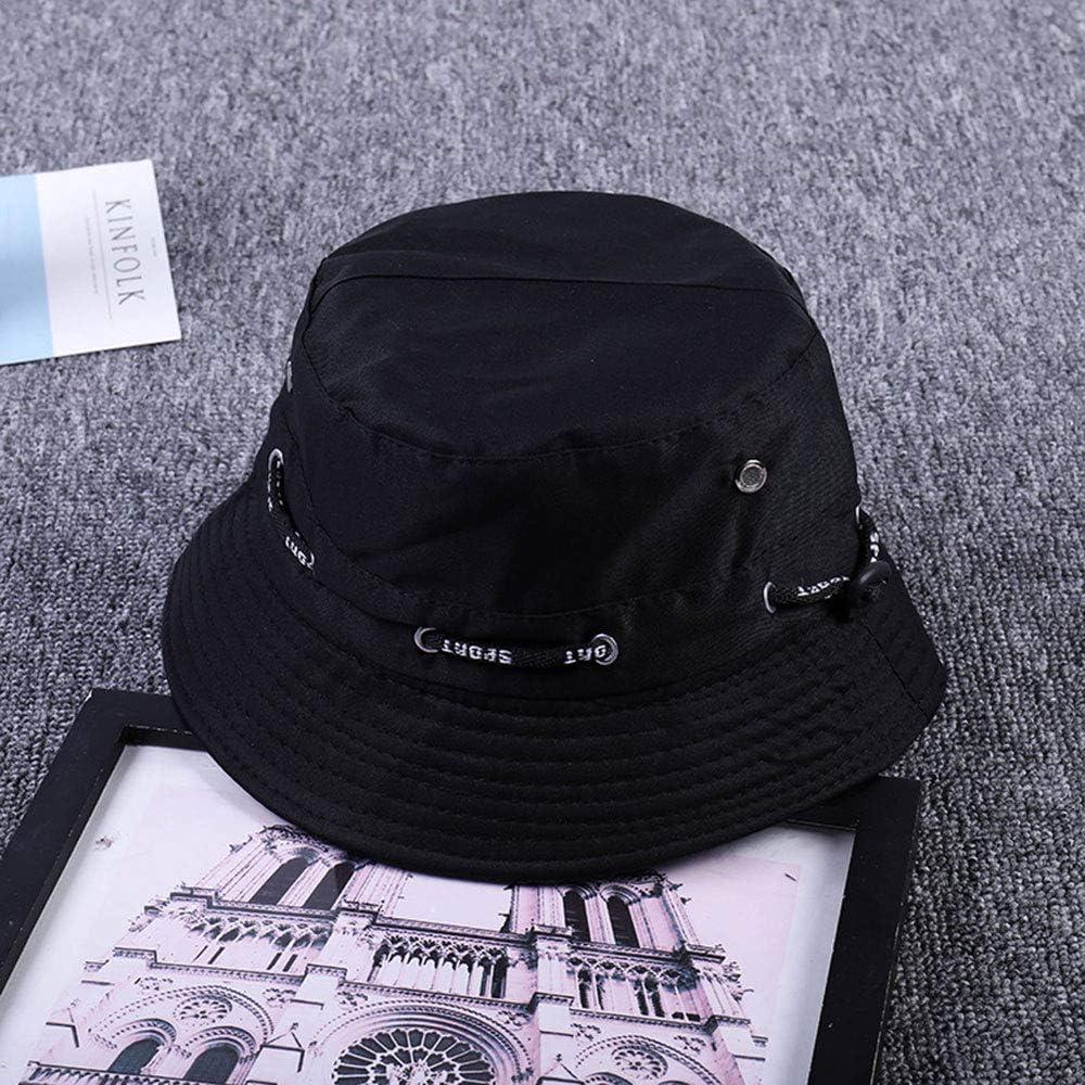 Manooby Fischerhut Bucket Hat Unisex Sonnenhut Faltbar Anglerhut f/ür Wandern Camping Reisen Angeln