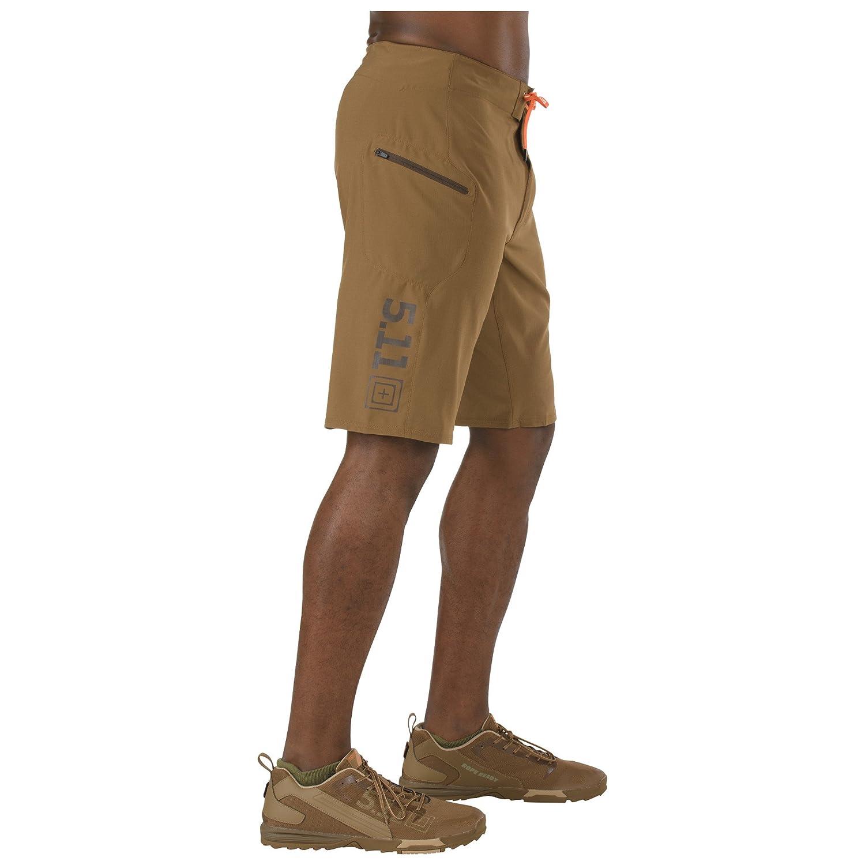 5.11 - Pantalones tácticos cortos Recon Vandal - Marrón batalla, 36 (91cm) de cintura x largo regular 5.11 Tactical 543059