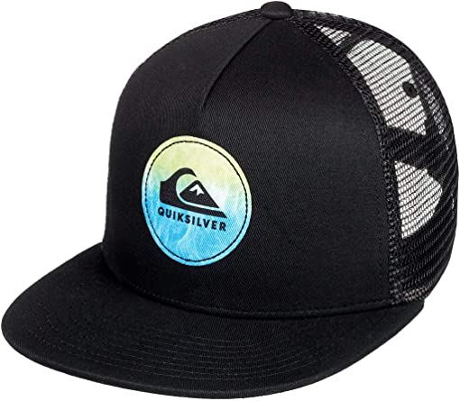Quiksilver - Gorra Trucker - Niños 8-16 - One Size - Negro: Amazon ...