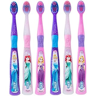 Oral-B Kids Toothbrush for Girls, Pro Health Stages Disney Princess for Children Ages