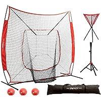 Rukket 7x7 baseball softball Pitching Batteur Practice Net Avec Réglable cible