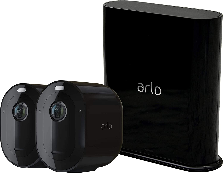 Arlo Pro 3 | Caméra de surveillance Wifi, Batterie rechargeable Alarme Grand...