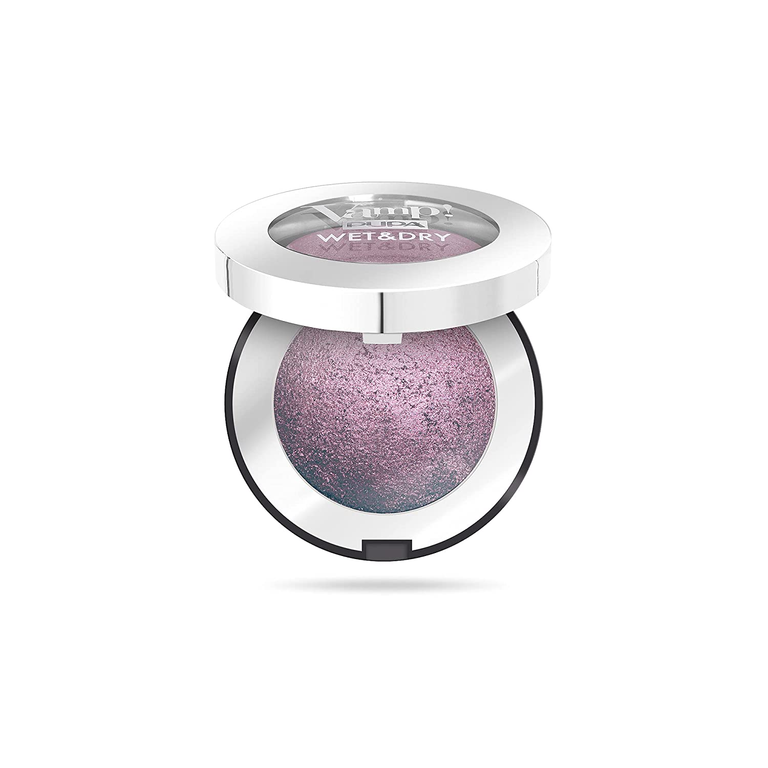 Vamp! Wet and Dry Baked Eyeshadow – 205 Hot Violet by Pupa Milano for Women – 0.035 oz Eye Shadow