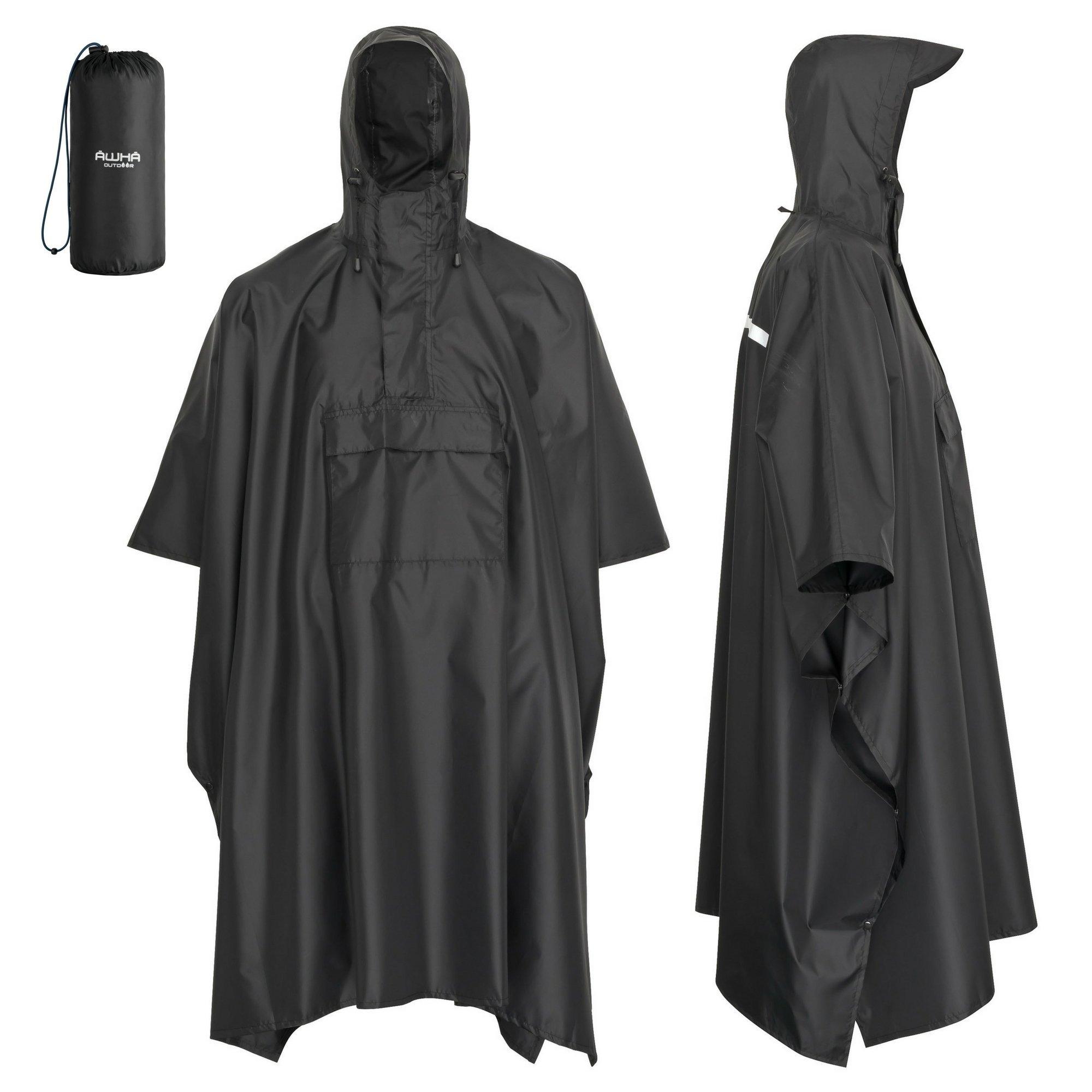 Freundschaftlich Regen Jacke Hose Anzug Regenschutz Regenanzug Regenjacke Regenhose Kapuze Angelsport Regenbekleidung