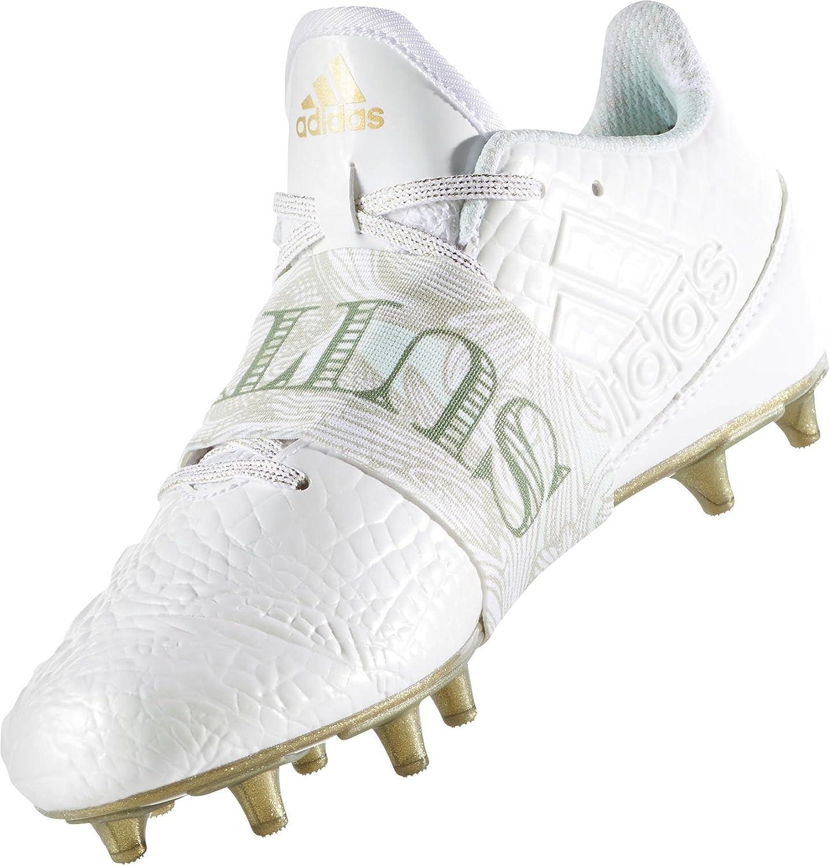 ecbcd74c985d adidas Kids' adizero 5-Star 6.0 SNOOP Football Cleats, (White/Gold, 6):  Amazon.co.uk: Sports & Outdoors