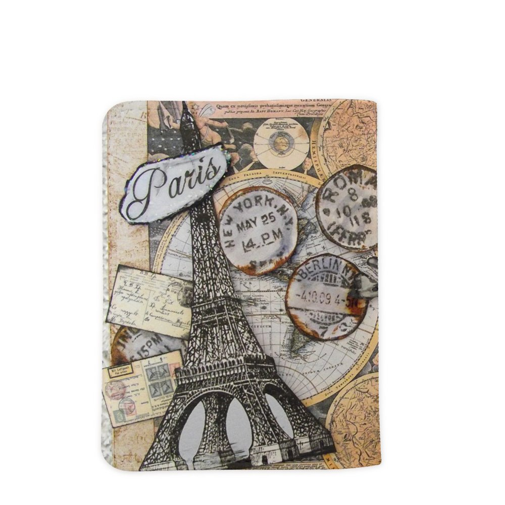 Let The Adventure Begins World Travel Passport Holder Customized Passport Covers Passport Wallet_Emerishop (PPLA41) by Emerishop (Image #4)