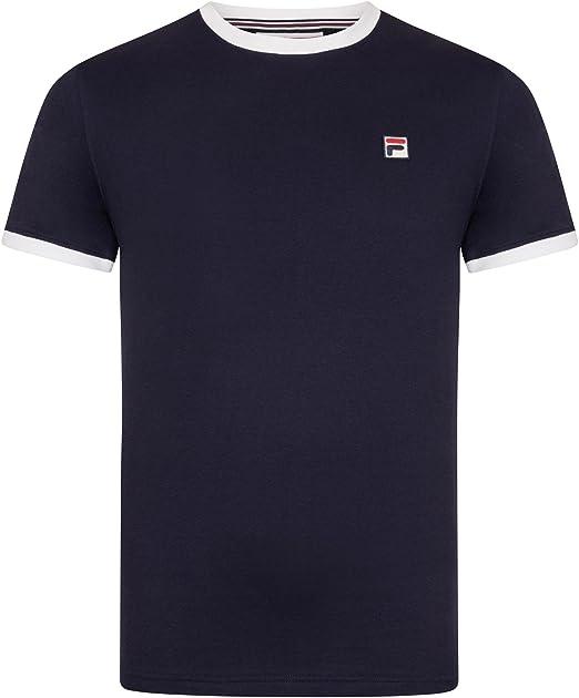 Fila Vintage Hombre Marconi Camiseta, Azul, XX-Large: Amazon.es: Ropa y accesorios