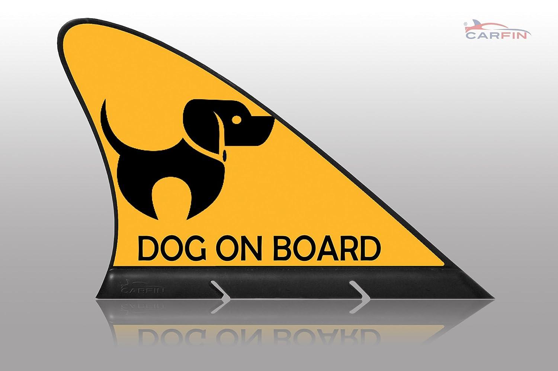 Cartel magnético para la bandera del coche, diseño de perro ...