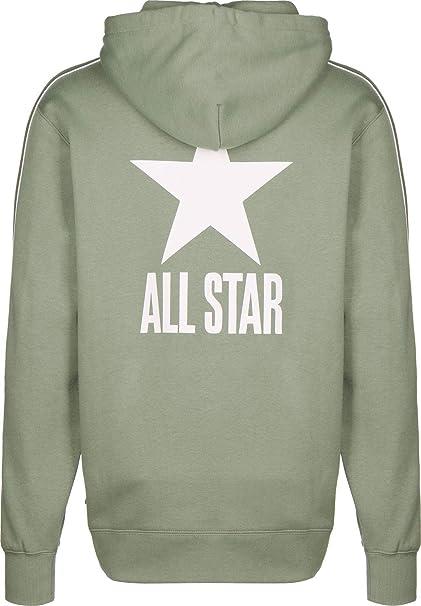 Converse All Star Track PO Sweat à Capuche BrownOlive