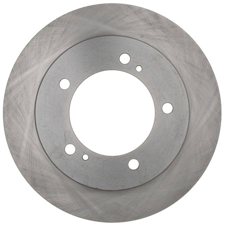 ACDelco 18A299A Advantage Non-Coated Front Disc Brake Rotor