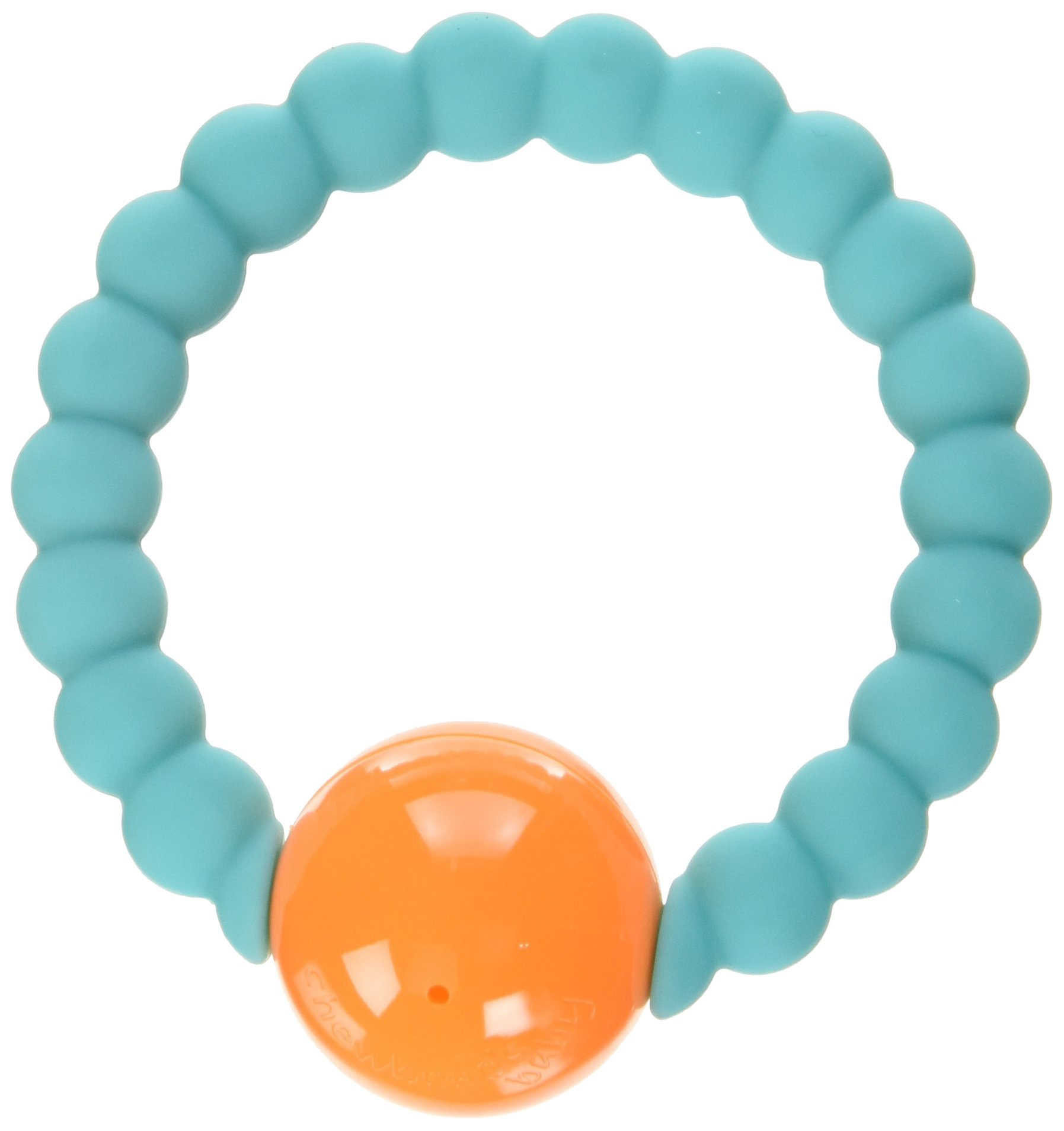 Chewbeads Mercer Rattle - Turquoise
