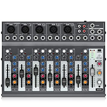 Amazon.com: Behringer Xenyx 1204 1002B, mezcladora.: Musical ...