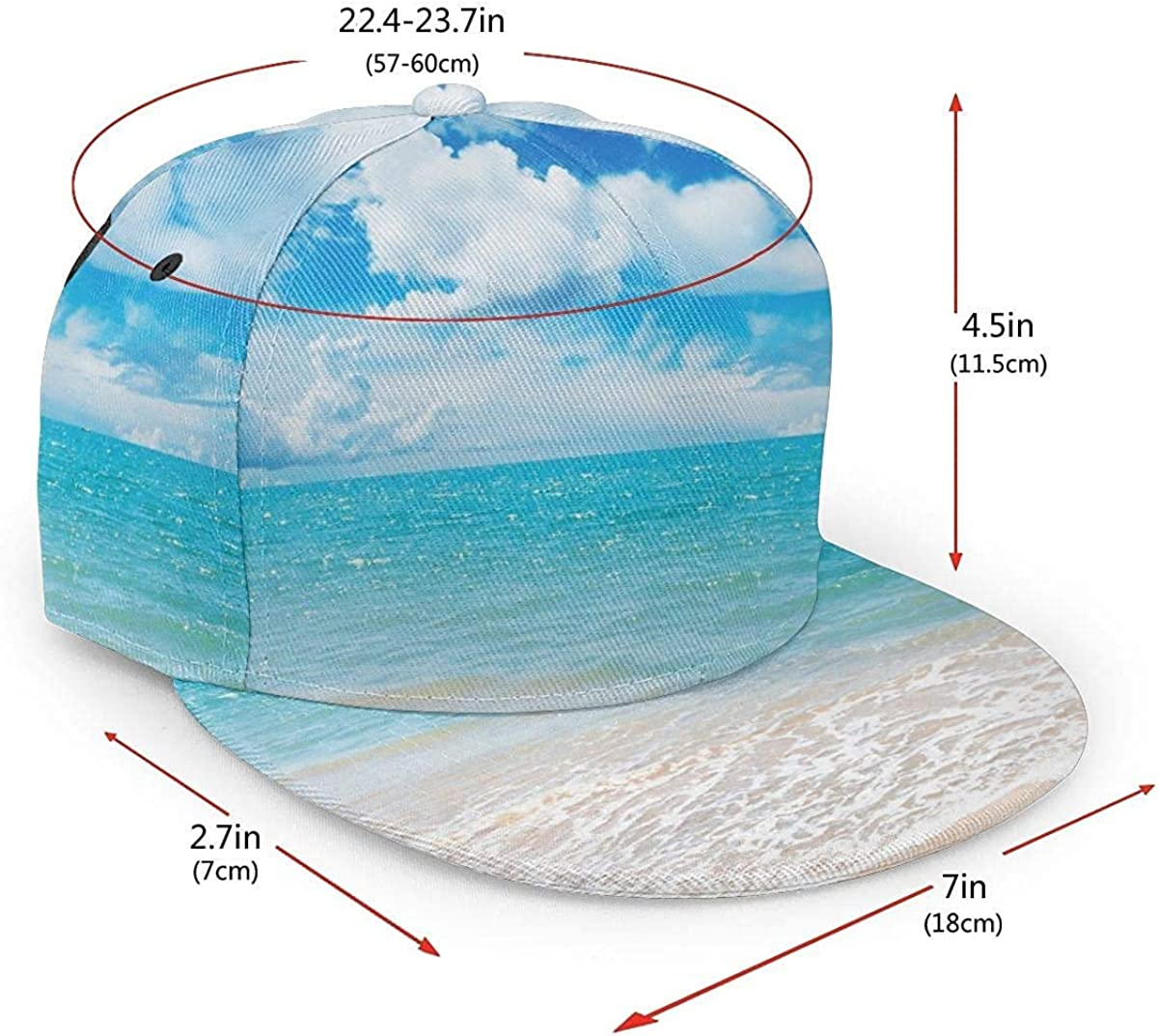 Clean Sea Oceans Blue Lightweight Unisex Baseball Caps Adjustable Breathable Sun Hat for Sport Outdoor