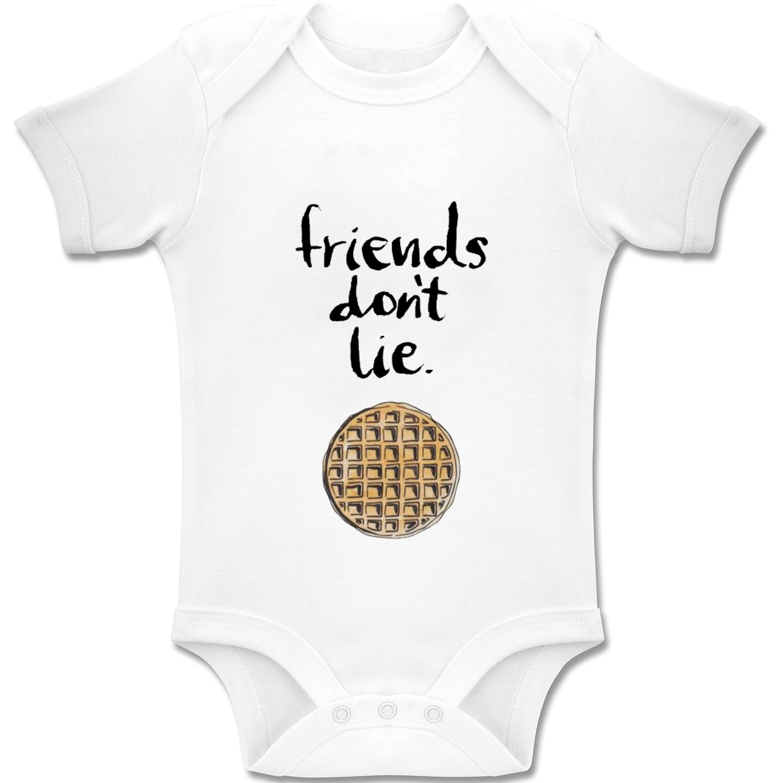 Baby Bodys // Strampler 100/% Baumwolle Acen Baby Stranger Things Inspired Friends Dont Lie 3-6 Monate
