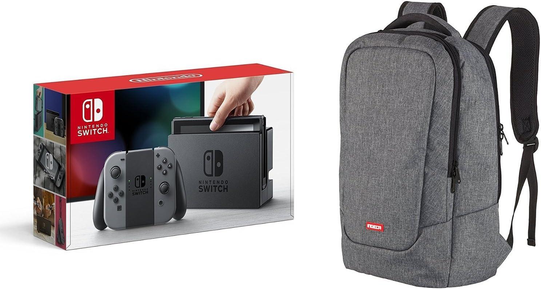 Nintendo Switch - Consola color Gris + Bolsa Gaming (Indeca ...