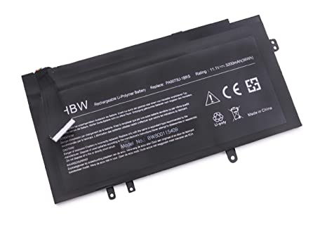 vhbw Litio polímero batería 3200mAh (11.1V) Negro para Ordenador portátil Laptop Notebook Toshiba