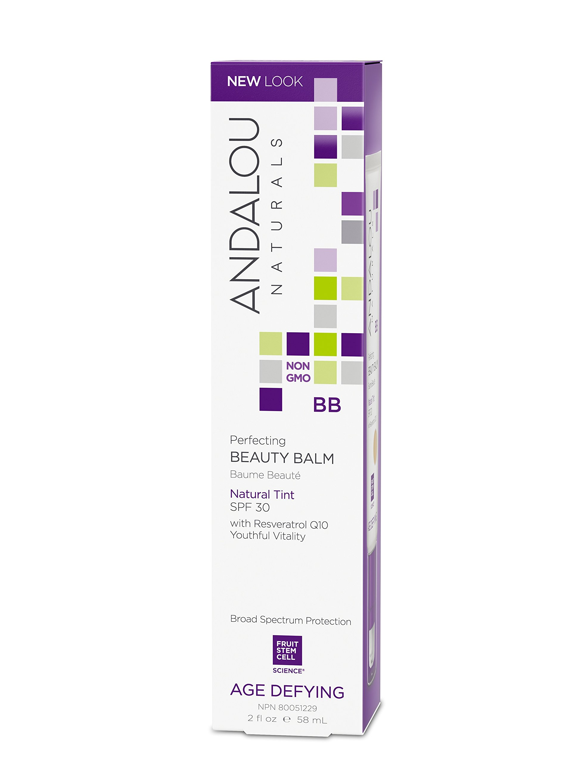 Andalou Naturals Perfecting BB Beauty Balm Natural Tint SPF 30, 2 Ounce by Andalou Naturals (Image #2)
