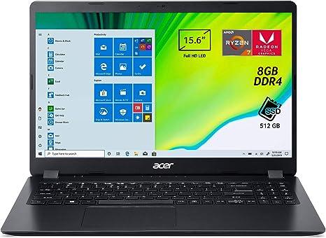 Acer Aspire 3 A315-42-R8D9 Notebook con Processore AMD Ryzen 7 ...