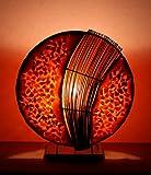 Lampe de table asiatique Assan Orange S (LA12-126/OR/S), lampe design, lampe à pied, lampe poétique, design decoratif, accessoires Bali