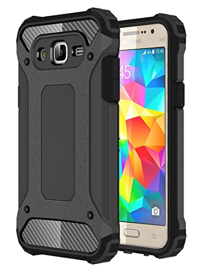 online store 5caa9 67a1e J2 Prime Case, Galaxy Grand Prime Plus Case, Torryka Premium Anti-scratch  Dual Layer Shockproof Dustproof Armor Protective Case Cover for Samsung ...