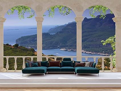 Vinilos decorativos pared paisajes sportpleinzeeland for Vinilos decorativos pared 3d