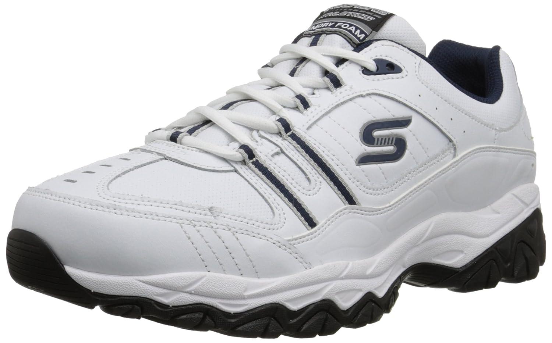 Skechers Sport Men's Afterburn Memory Foam Strike On Training Shoes Skechers Sport Footwear Mens 50122