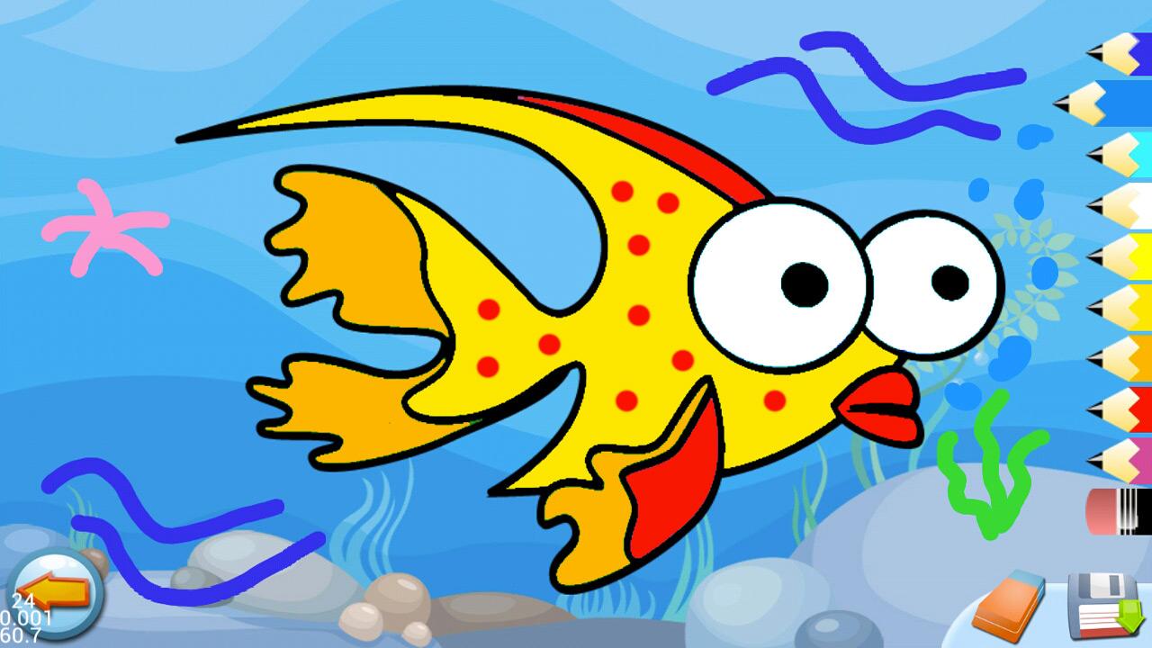 Océano - Puzzles para Pintar - Color los Dibujos de los