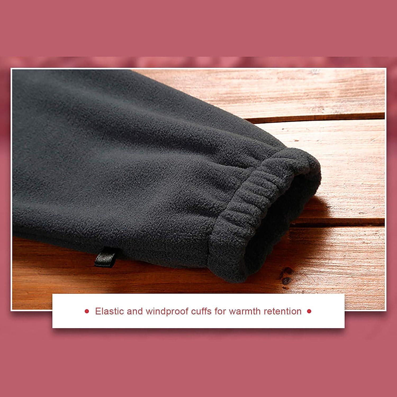 Auifor Damen Kapuze wasserdicht Winddicht Plus samt Plain Reißverschluss Jacke Zwei Stück Set Schwarz