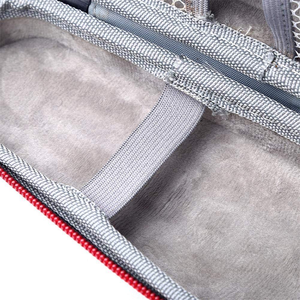farmer-W Bolsa Almacenamiento de la afeitadora, Estuche de Viaje de la afeitadora EVA Estuche portátil de Prueba de Golpes para Braun Series 3 Series 5 Series 7 ...