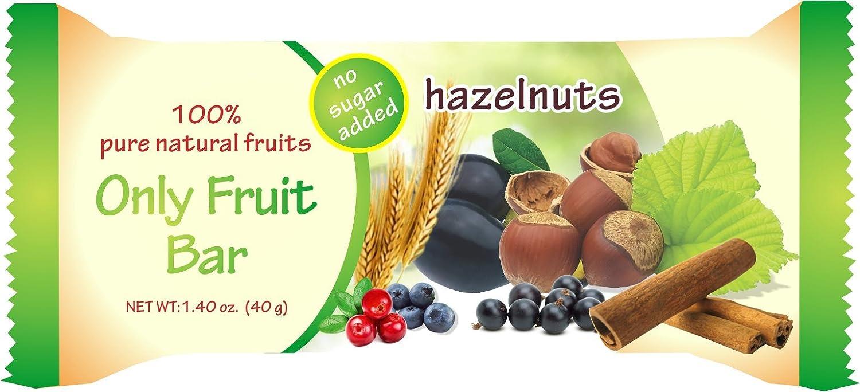 Amazon.com: Sólo Frutas Bar Avellana: Health & Personal Care