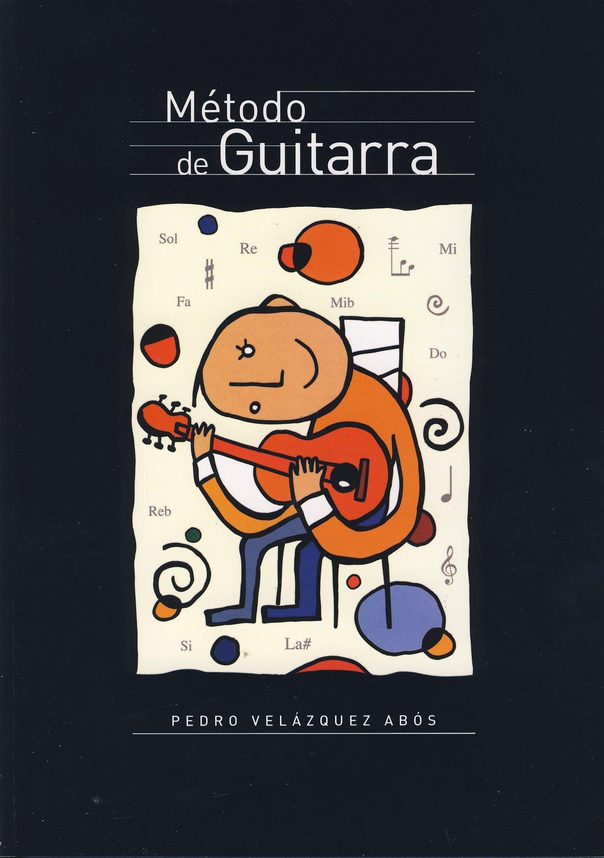 VELAZQUEZ ABOS P. - Metodo de Guitarra (Musica y Cifra) para Guitarra (Spanish) Paperback – 1995