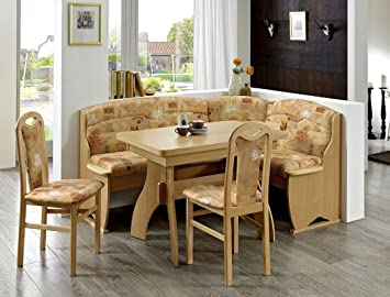 Expendio Eckbankgruppe Thalwil Buche Braun Eckank 2x Stuhl Tisch
