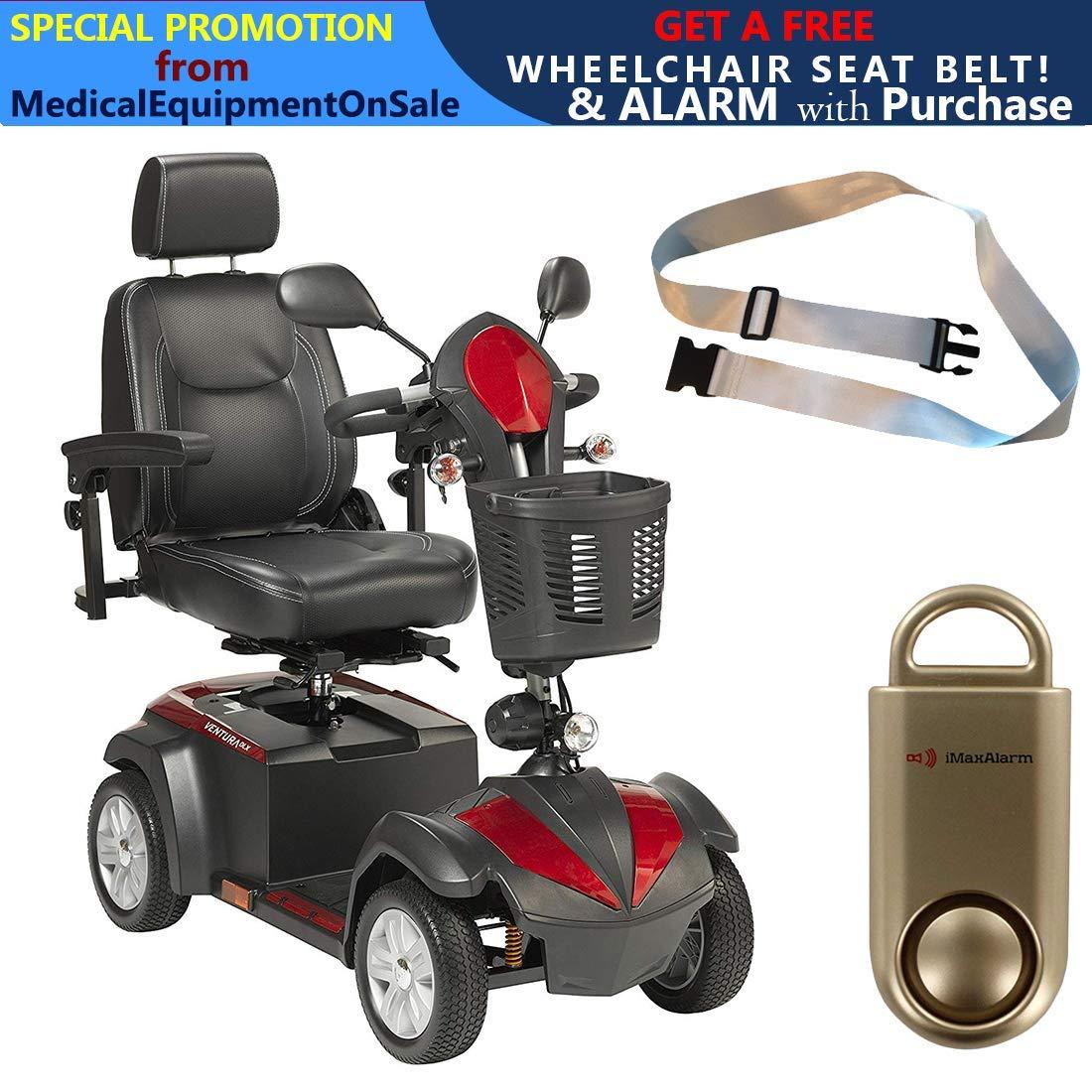 Amazon.com: Ventura Power - Patinete de 4 ruedas, asiento de ...