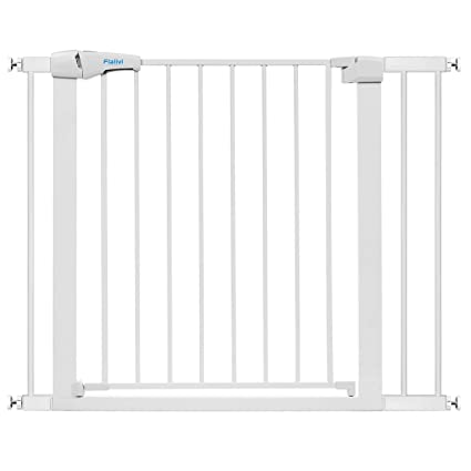 Child Safety Gate Safety 1st Simply Close Extra Tall Double Locking Metal Baby