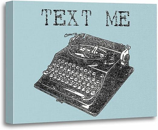 Vintage Typewriter Art Print Home Decor Wall Art Poster