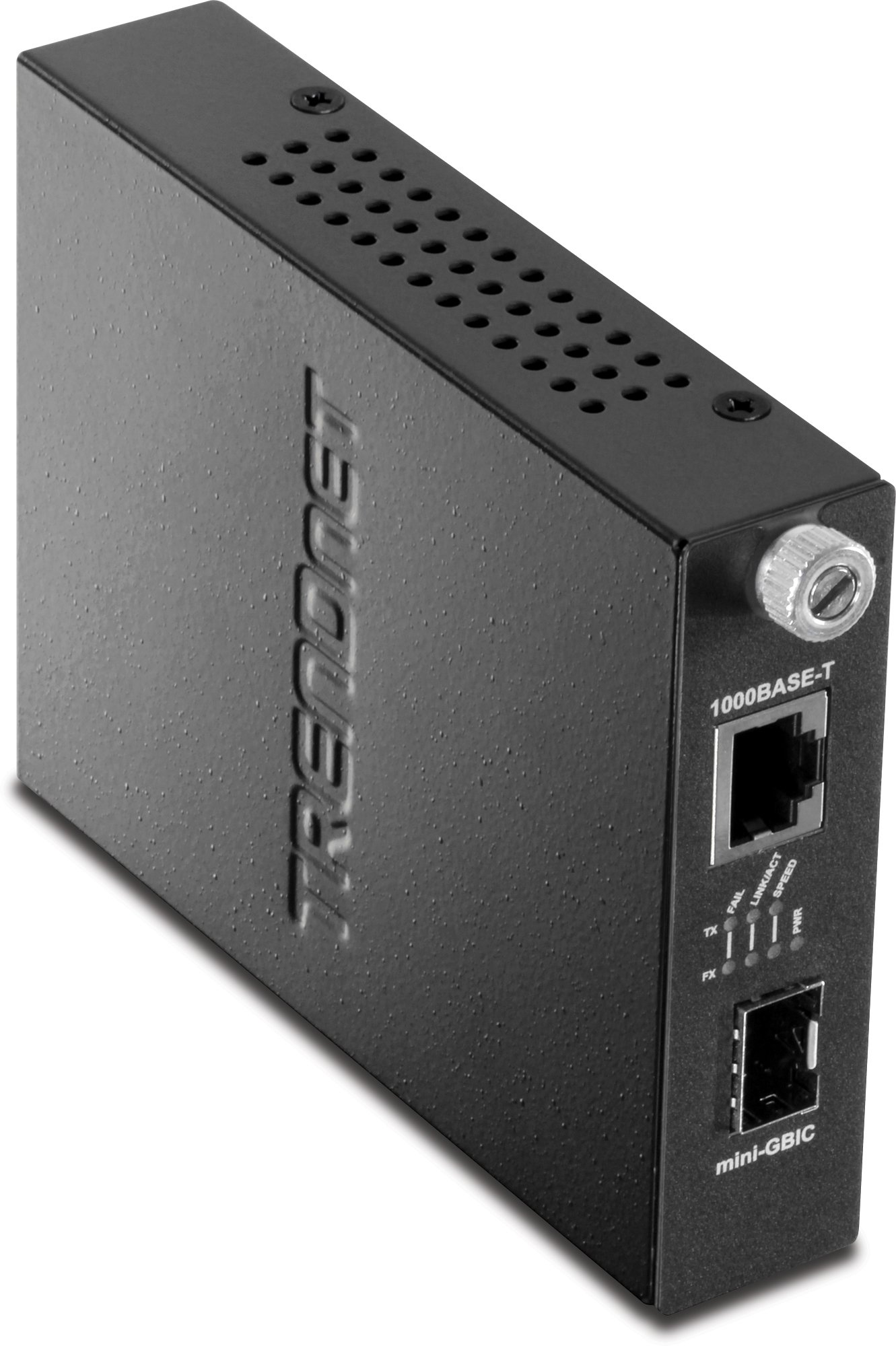 TRENDnet 100/1000Base-T to SFP Media Converter, TFC-1000MGA
