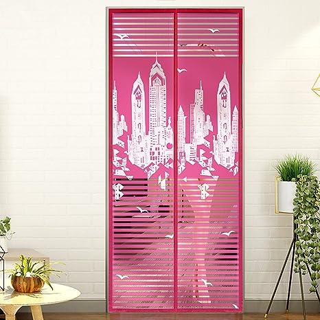 Heavy duty Magnetic screen door, Privacy magnetic fly screen ...