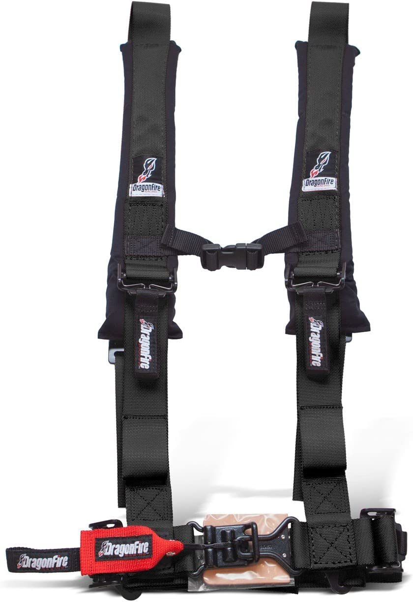 Honda Talon With Harness Override Plug Must Have or computer will limit speed to 15mph Black Set of 2 Dragonfire Racing 4-Point Harness 2 Harness W override bypass connector For 2019