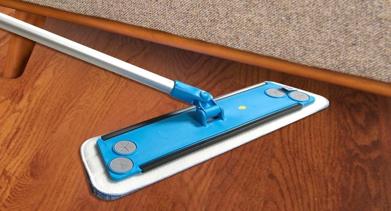 Simplee Cleen Microfiber Swivel Household Mop Kit