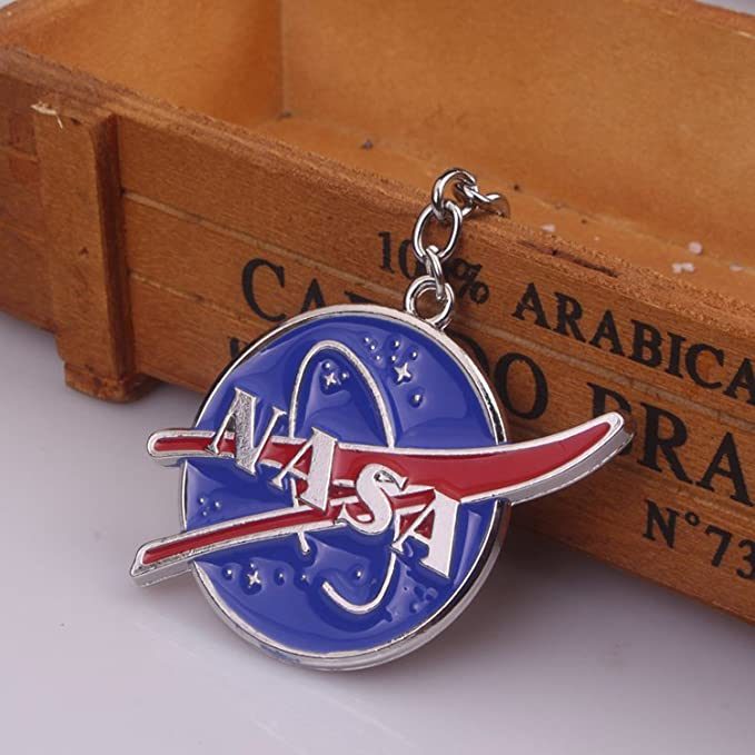 Amazon.com: NASA Llavero NASA aleación colgante 1 pieza ...